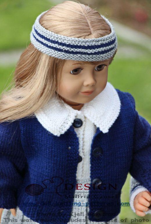 18 inch doll knitting patterns | 18\