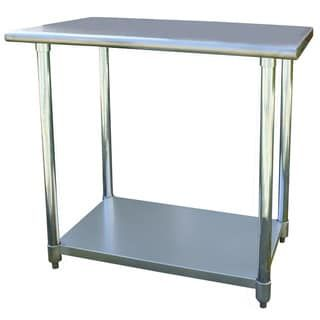 sportsman series stainless steel work table 24x36 s s work table