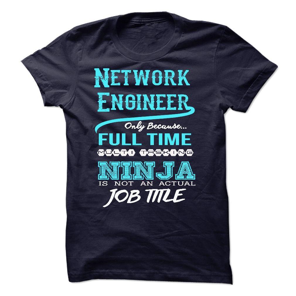 (Tshirt Order) Ninja Network Engineer T-Shirt [Tshirt design] Hoodies, Tee Shirts
