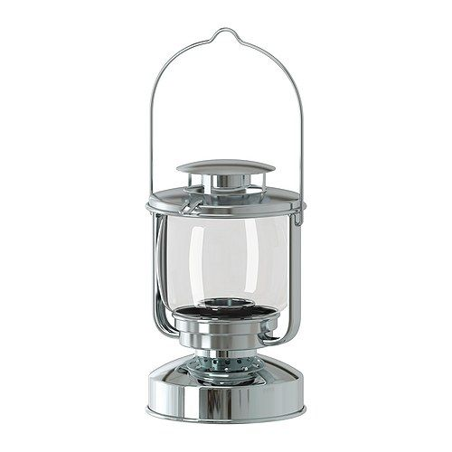 IKEA: MÖRKT Lantern For Tealights, Indoor Or Outdoor, $8