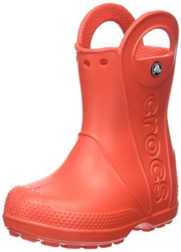 Crocs Handle It Rain Boot 12803 Unisex - Kinder Kurzschaft Gummistiefel -  http:// · Kids ...