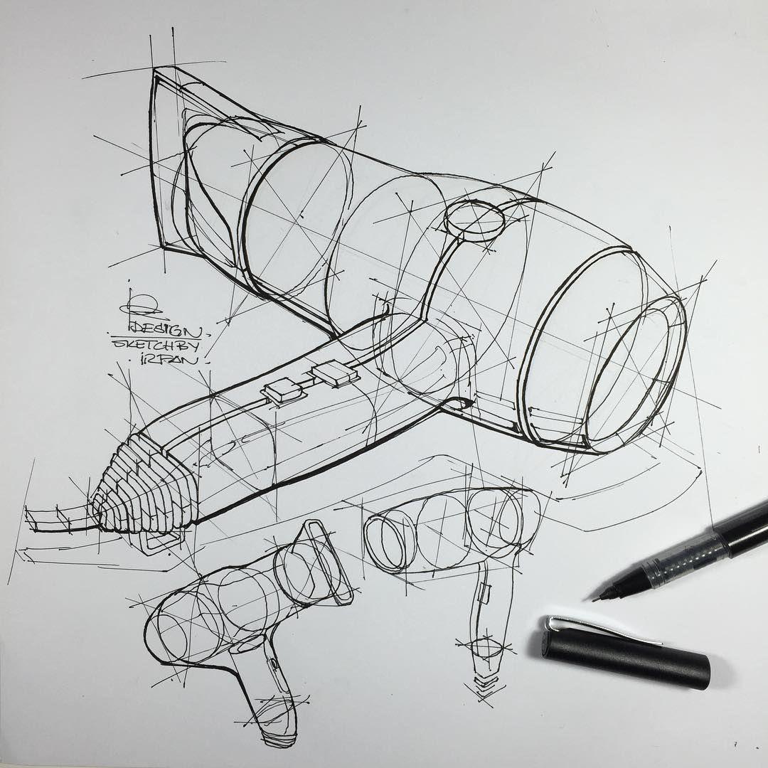 Design Industriel Dessin D Objet Croquis De Produit Realisation De Croquis
