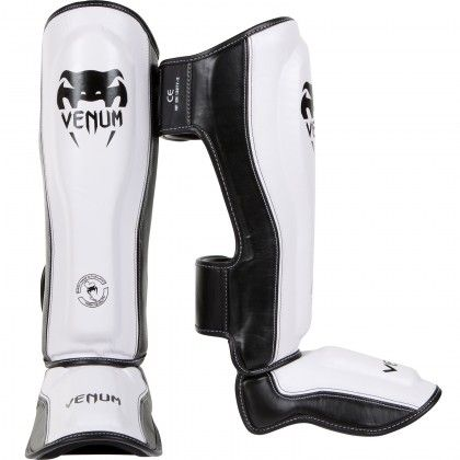 Venum Competitor 2.0 Adult Shin Guards White