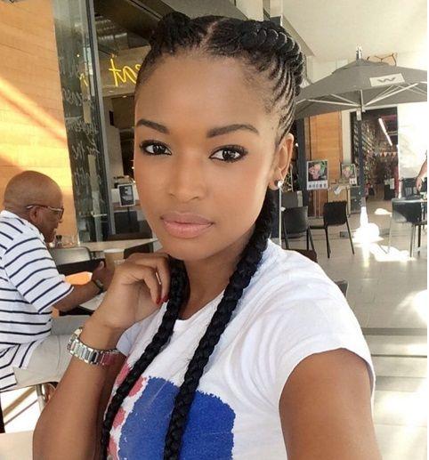 Ayanda Thabethe S Career Just Keeps Soaring Natural Hair Styles