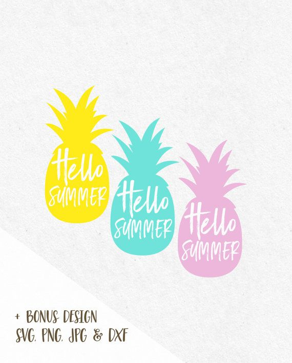Genial Hello Summer Pineapple Svg Beach Svg Svg Saying Summer Svg Summer Quotes  Summer Beach Svg Svg