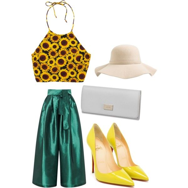 A fashion look from March 2015 featuring Tome pants, Christian Louboutin pumps and Tod's wallets. Browse and shop related looks.