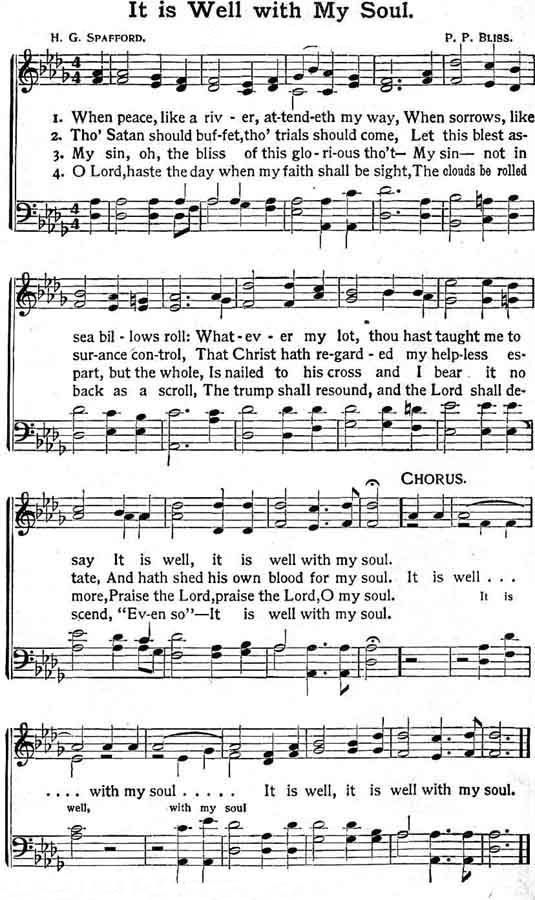 It Is Well With My Soul~~~NOTE TO SELF: Printable gospel hymns on ...