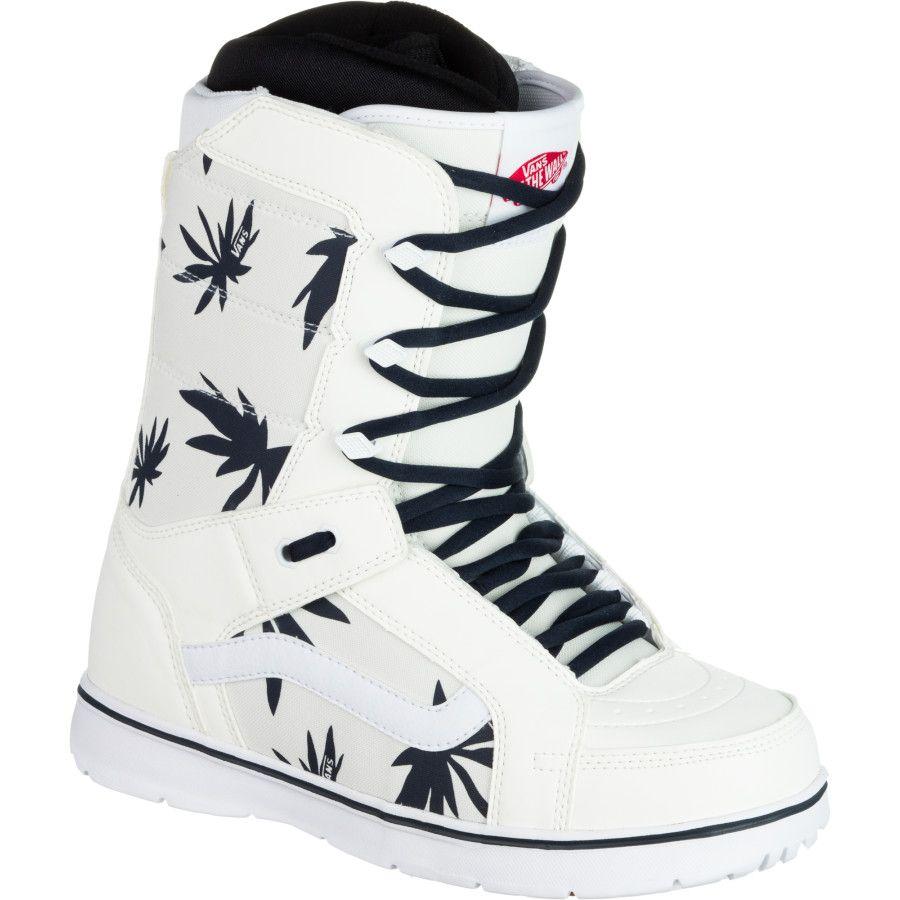 21025663f025 Vans Hi-Standard Snowboard Boot - Men s Cream Navy
