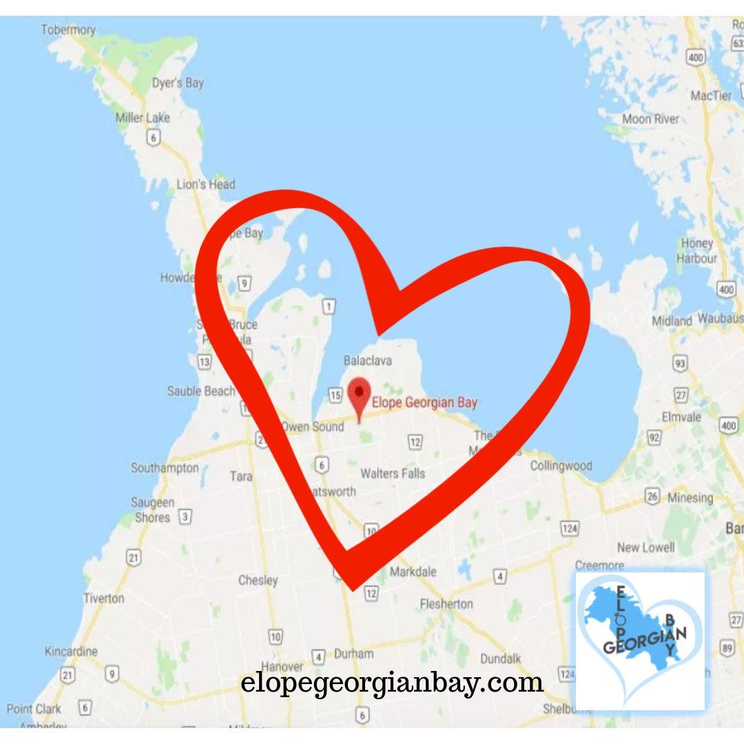 Happy Valentine's Day!! ️ . . . #ontario #elopegeorgianbay