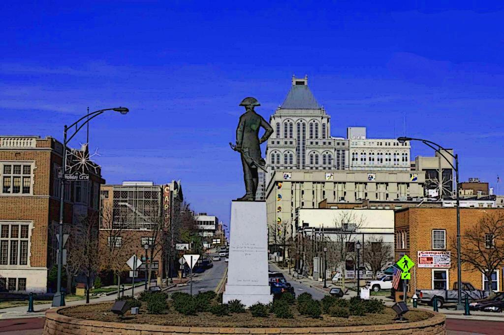 Nathanael Greene Statue At Holliday Circle Greensboro Nc  Art Entrancing Bathroom Remodeling Greensboro Nc Review