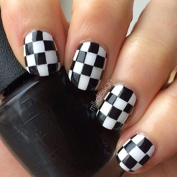 80 Cly Nail Art Designs For Short Nails Nailart Naildesigns
