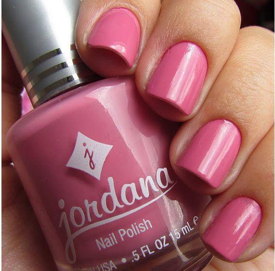 Pretty pink nail polish! Novos Esmaltes Jordana   NAILS   Pinterest ...