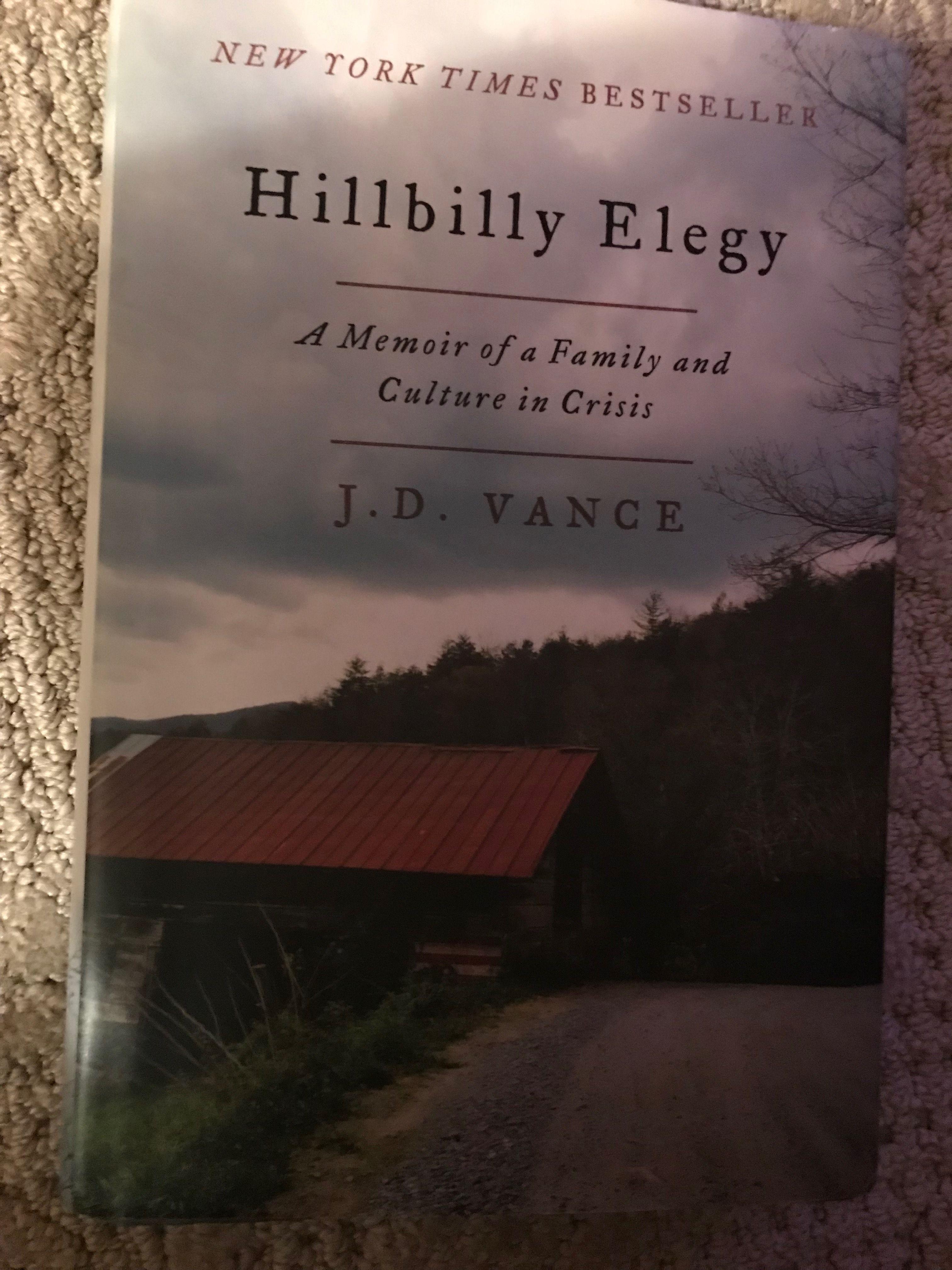 A Memoir Hillbilly Elegy Memoirs New Tork Times