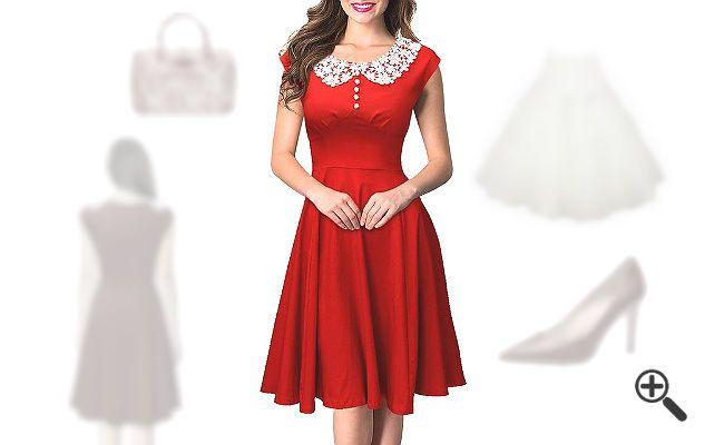 pin von auf petticoat kleider zum verlieben pinterest outfit weihnachtsfeier. Black Bedroom Furniture Sets. Home Design Ideas