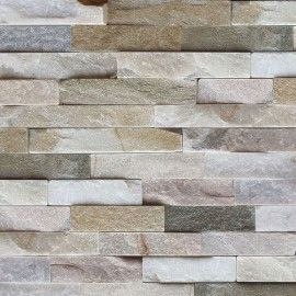 Mint Quartz Stacked Stone