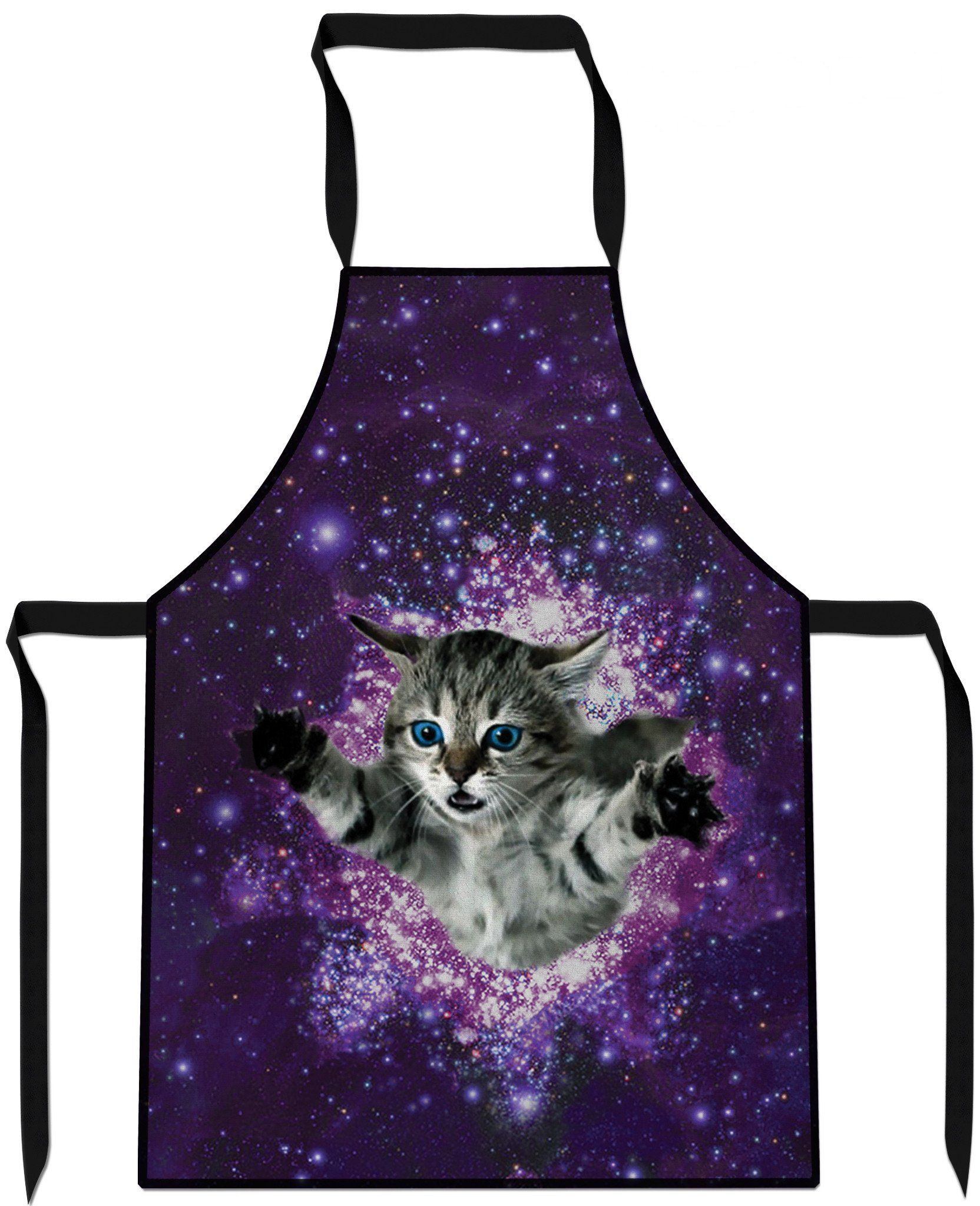 Kitty Glitter Cooking Apron Kitty Cooking Apron Funny Aprons