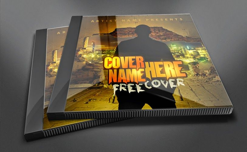 Free Psd Mixtape Cover Template Psd Mixtape Cover