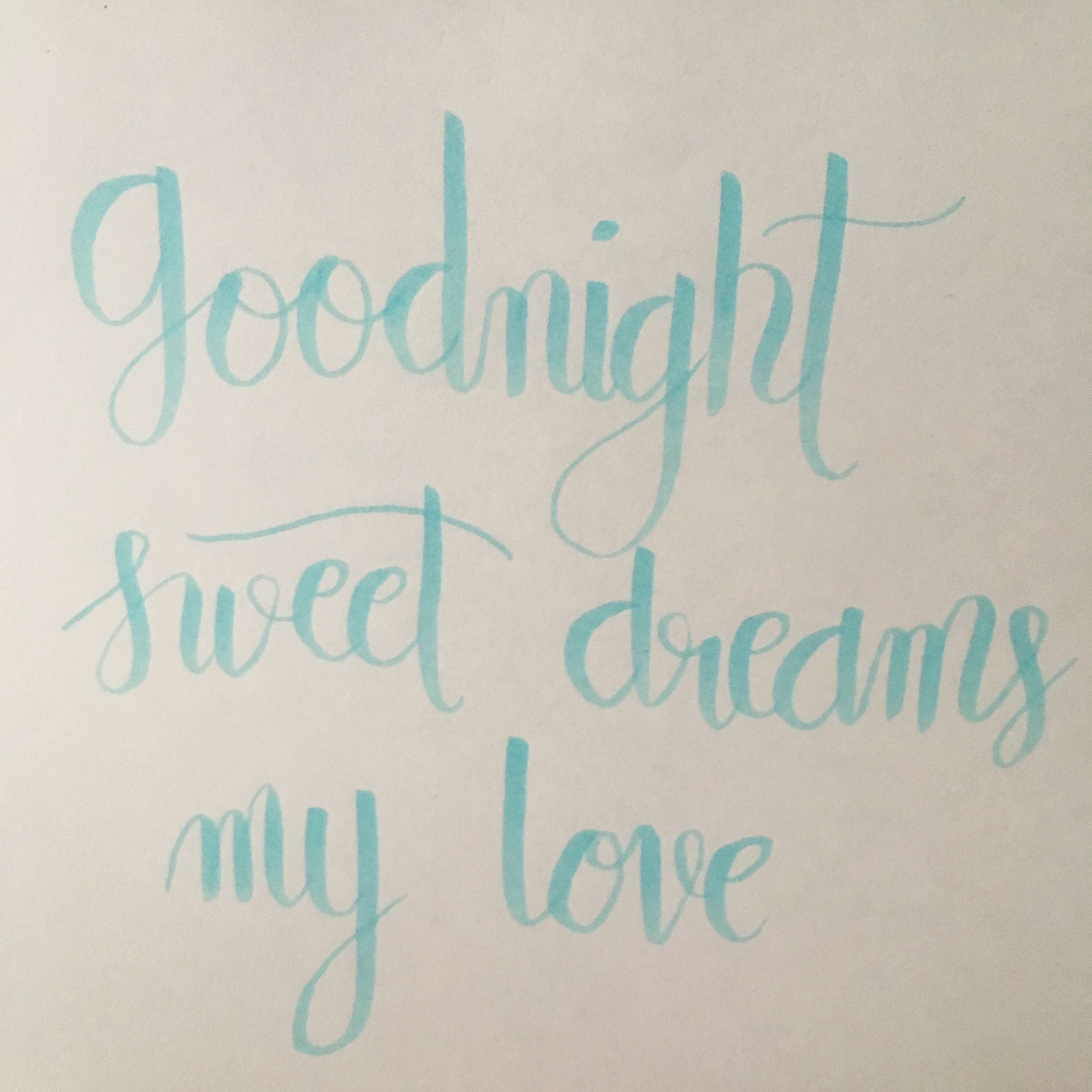 Goodnight Sweet Dreams My Love Left And Write Pinterest Sweet