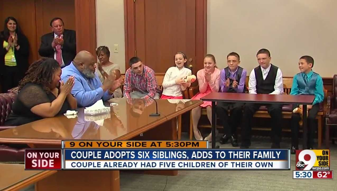 (article +vid inside) An CINCINNATI, Ohio couple with five