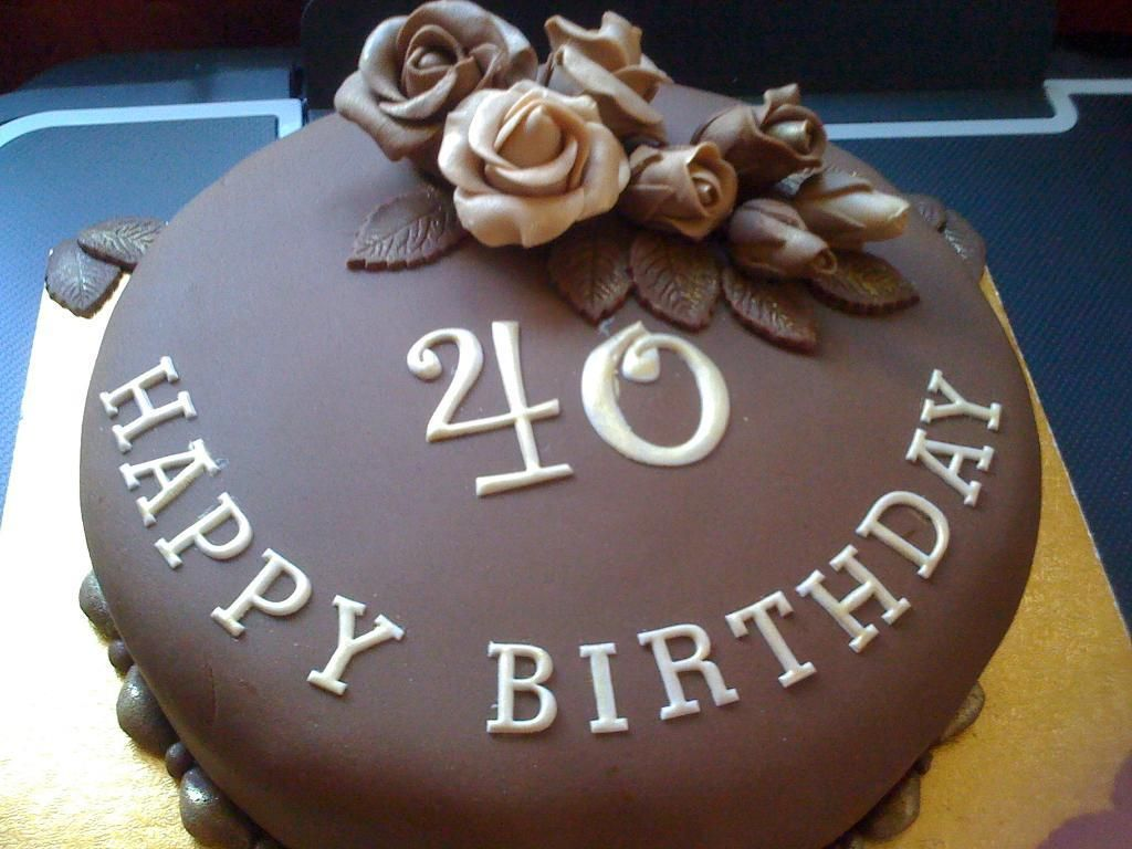 Chocolate Cake For Mans Birthday