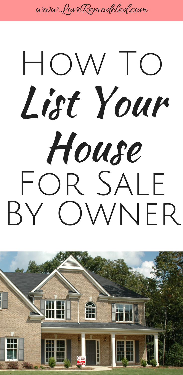 How To Sell Your House Without A Realtor Selling Home By Owner Things To Sell Selling Your House