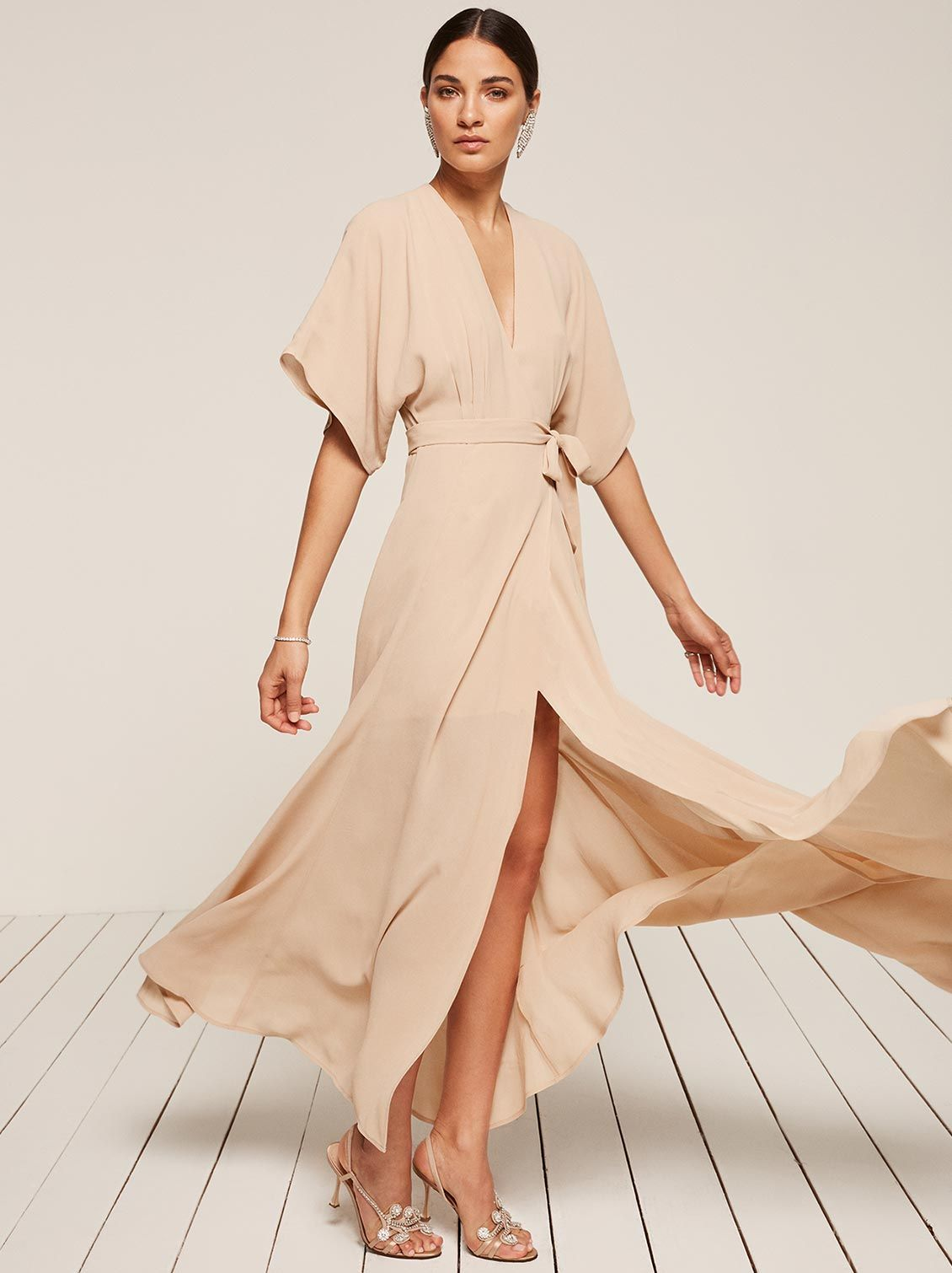 Rosehip dress reformation naked and wedding guest dresses