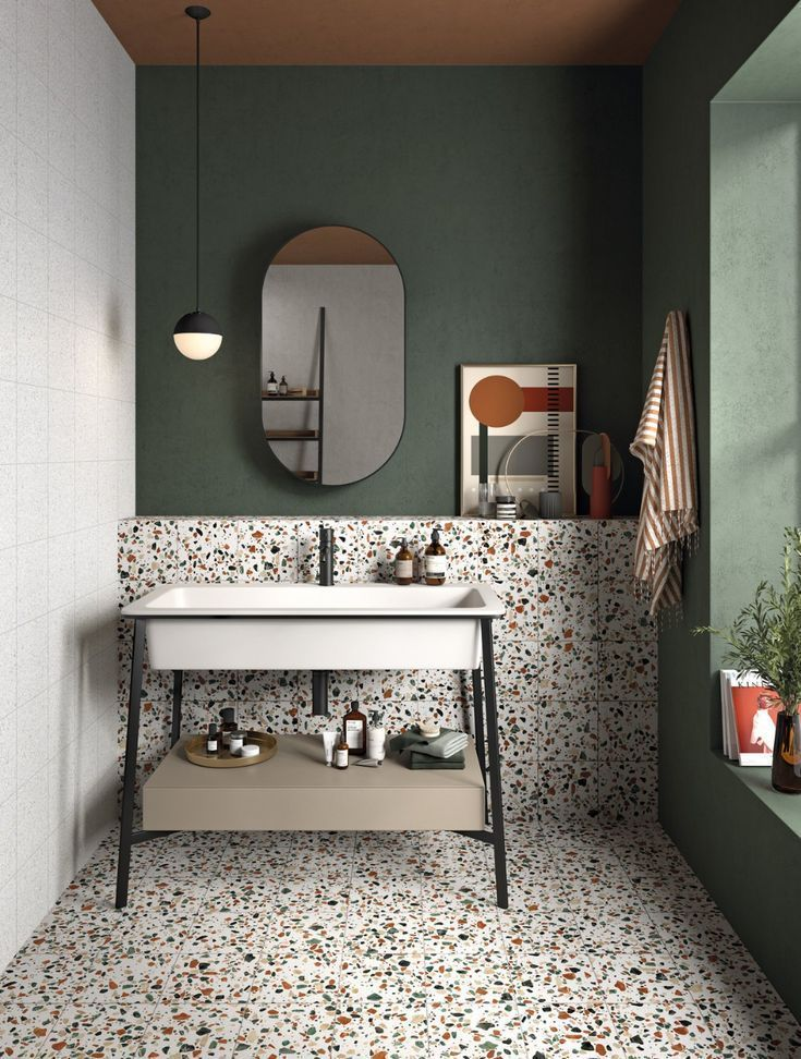 Photo of Photo 7 of 17 in Trend Report: Tile Style in 2020 | Bathroom inspiration, Style tile, Bathroom inter