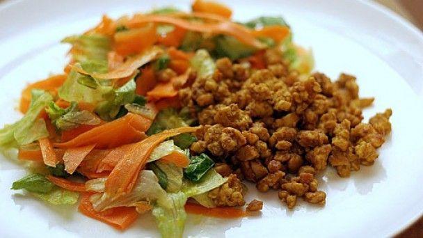 Рецепт Индийского морковного салата с бараниной