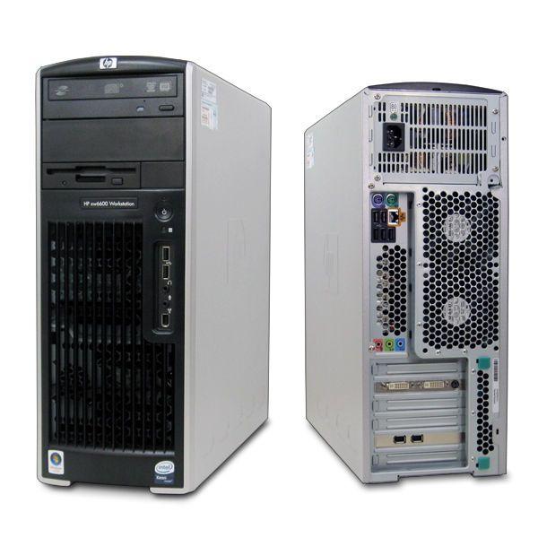 HP XW6600 Two QuadCore E5450 3 00Ghz 32GB RAM 500GB HDD