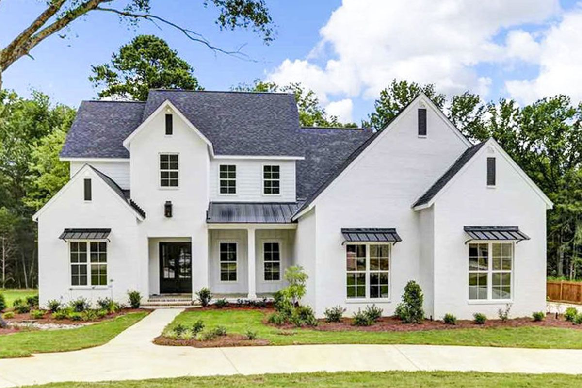 Architectural Designs Acadian Style House Plan 51751hz Has A Brick And Stucco Exterior With A Porch Cen Acadian House Plans Acadian Style Homes New House Plans