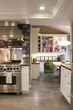 Kitchen Remodel - eclectic - kitchen - san francisco - Story & Space - Interior Design and Color Guidance