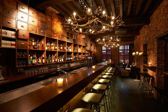 SPEAKEASY! Love the back bar   I Ricchi Concept Board   Pinterest ...
