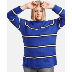 Photo of Samoon Pullover im Streifen-Look Blau Ringel Damen Gerry Weber