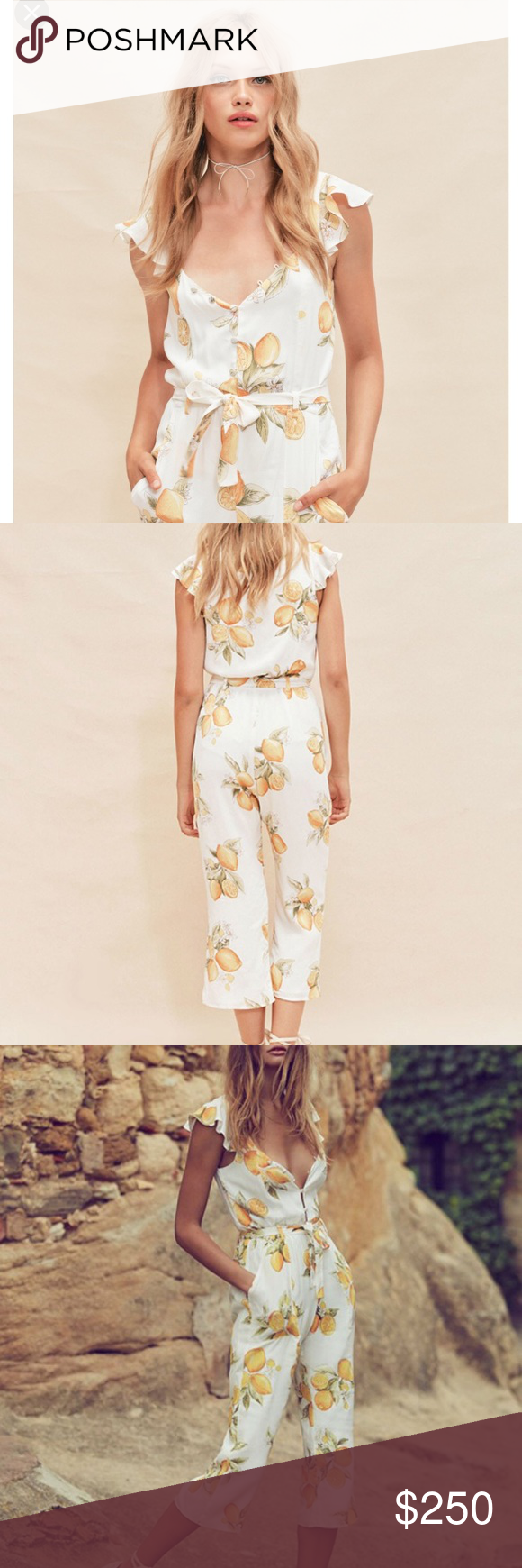 Host Pick For Love And Lemons Limonada Jumpsuit Nwt In 2018 My