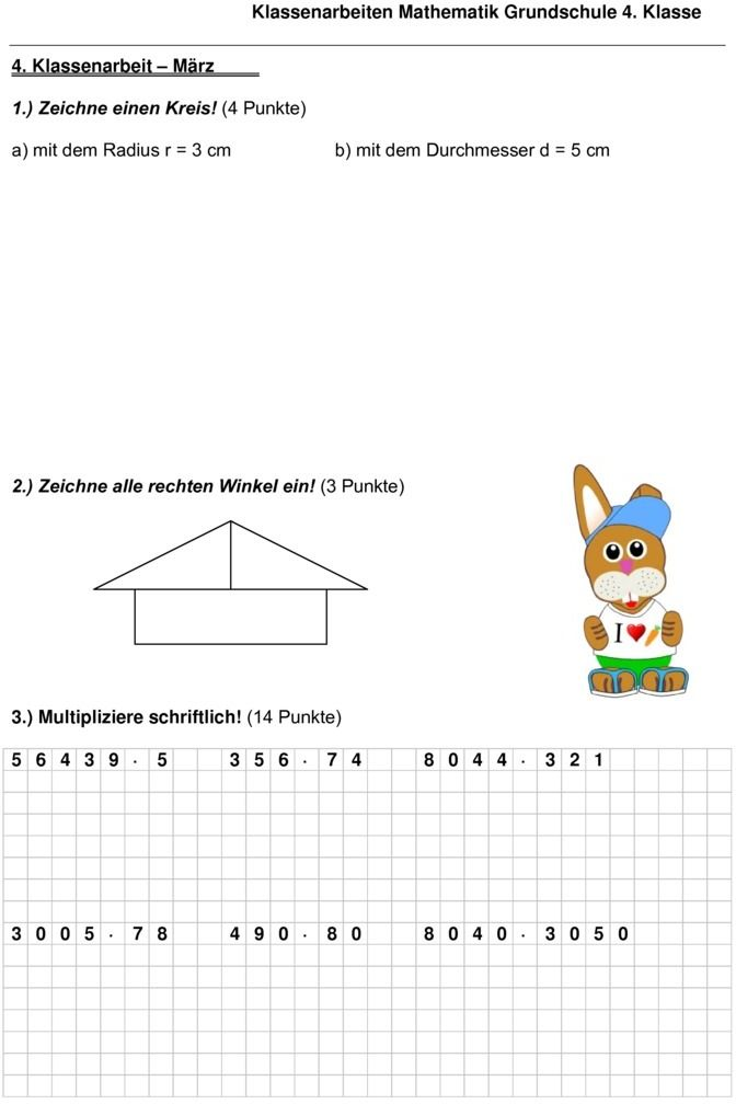 klassenarbeit zu geometrie mathe klassenarbeiten 3 4 klassenarbeiten geometrie und erste klasse. Black Bedroom Furniture Sets. Home Design Ideas