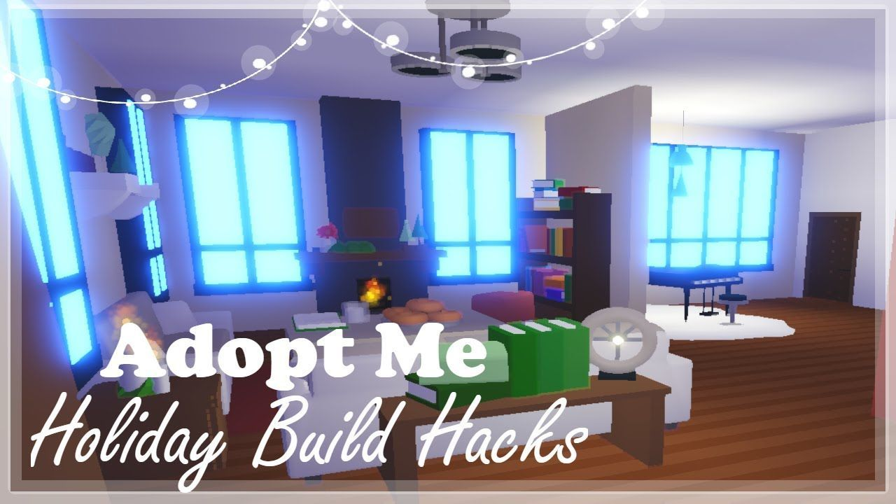 Gingerbread House Tour Voice Reveal Adopt Me Holiday Build Hacks Cute Room Ideas House Tours Home Building Design