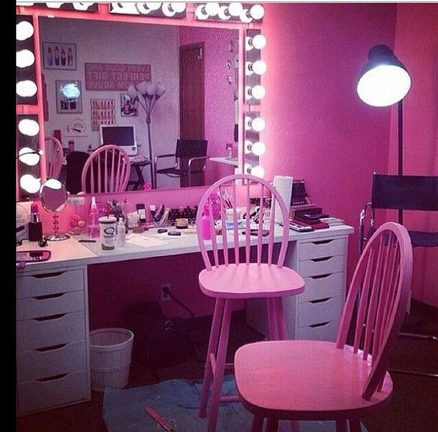 Dressing Table Mirror Lights Chest Of Drawers Make Up