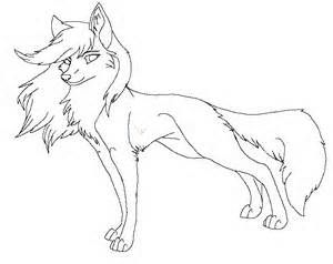 Line Art Wolf Colors Animal Coloring Pages Wolf Drawing