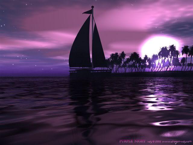 صور باللون البنفسجي كيف احبك حبيبي Purple Wallpaper Purple Sunset Scenery
