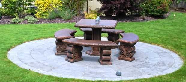 Brendan's garden outdoor furniture Cast concrete furniture Patio furniture ireland.jpg (620×274)