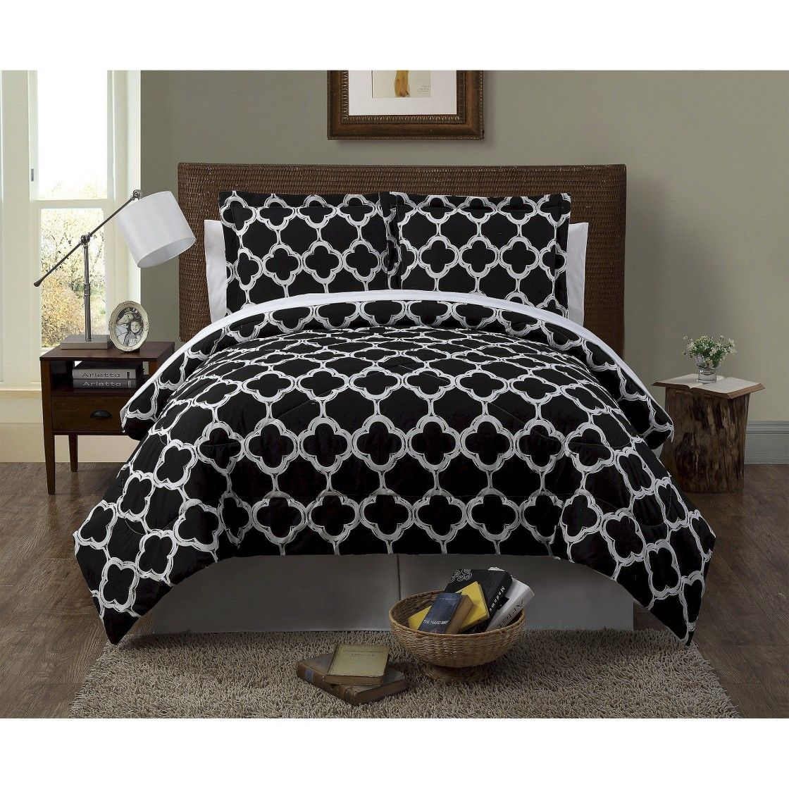 Galaxy 8 Piece Bed In A Bag With Sheet Set Home Pinterest Room