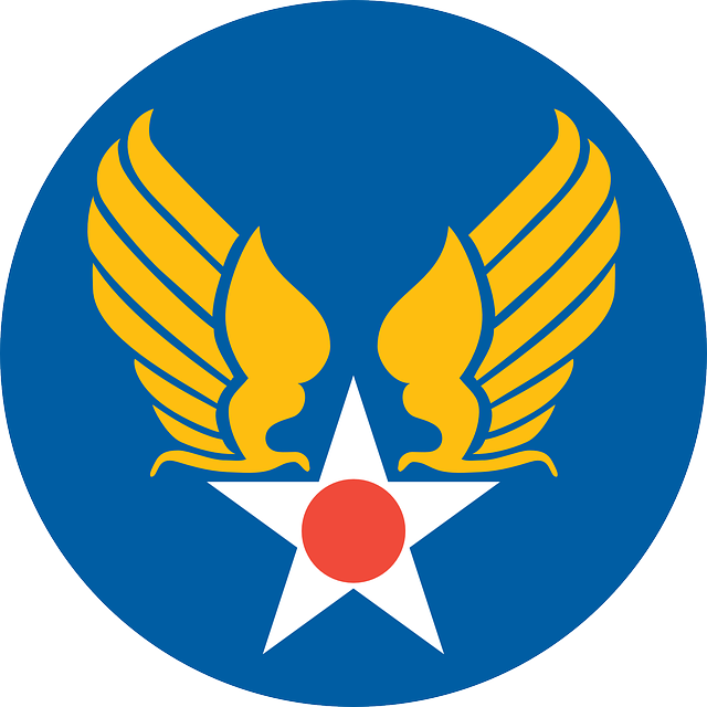 Free Image On Pixabay Star Circle Eagle Wings Logo Air Force Symbol Air Force Tattoo Military Insignia