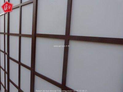 Cloison Japonaise Rokugatsu En Vantaux Cloison Japonaise Porte - Portes coulissantes japonaises