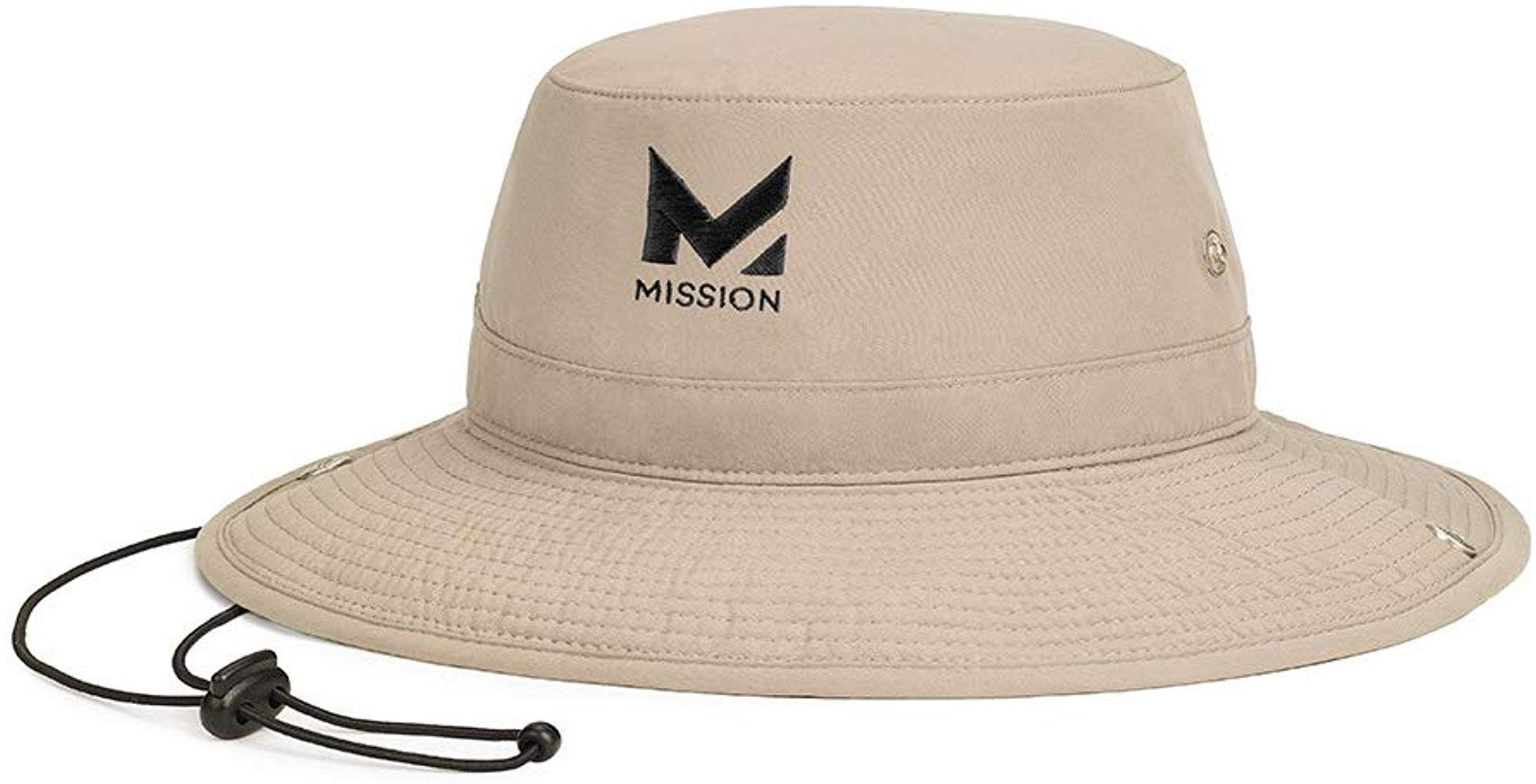 Mission Cooling Bucket Hat Khaki
