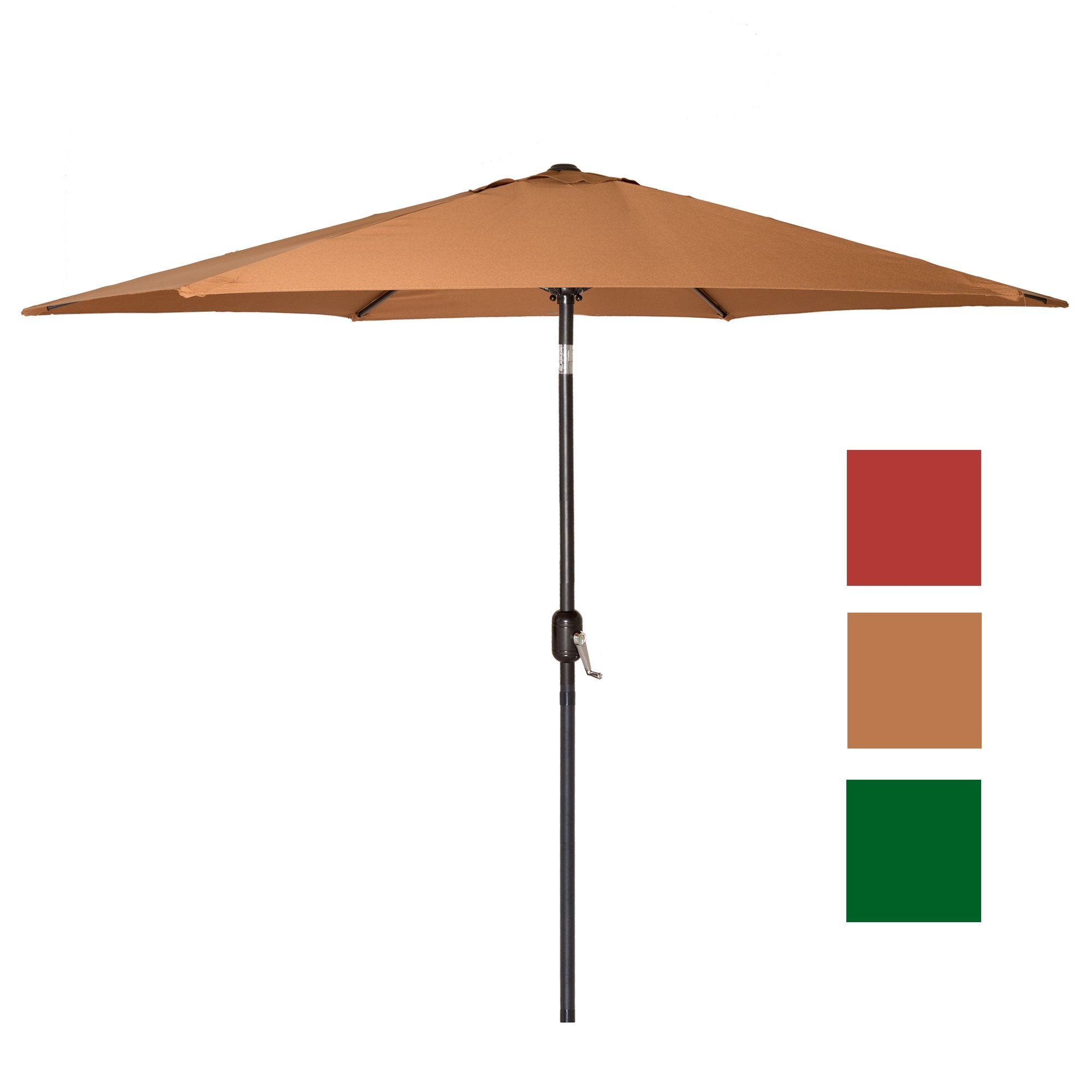 canopy img patio natural do umbrella thumb ribs market product ft replacement world