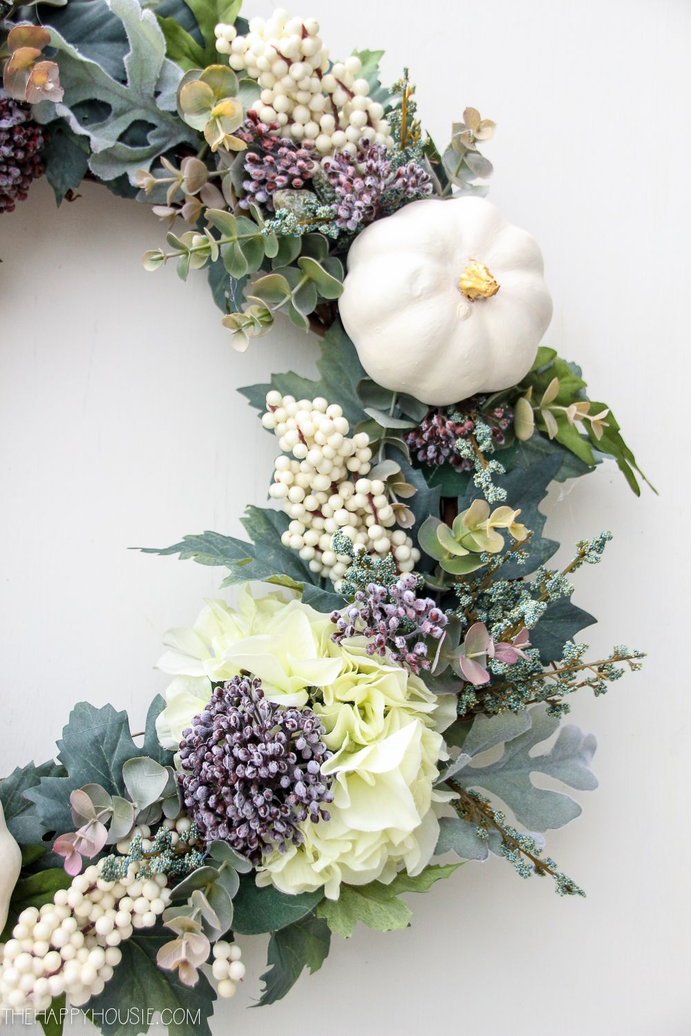 How to Make a High-End Style DIY Fall Wreath on a Budget ...