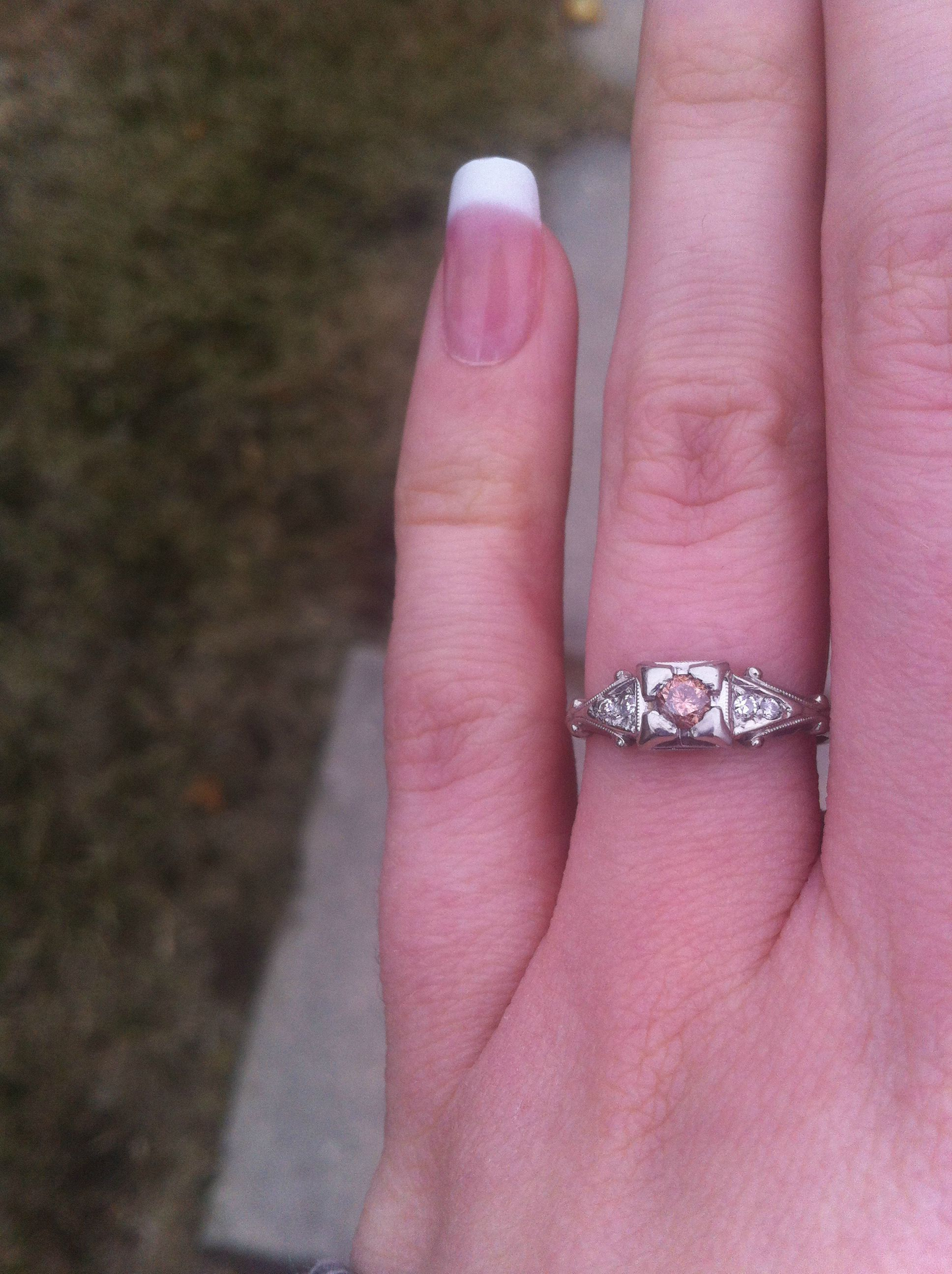Show Me Your Vintage/Antique Engagement Rings! - Weddingbee | Page 4 ...