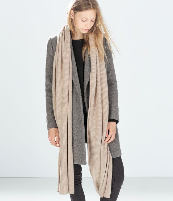 Verarbeitung finden schnell verkaufend bekannte Marke ZARA - WOMAN - CASHMERE-FEEL SCARF | Fashion | Womens ...