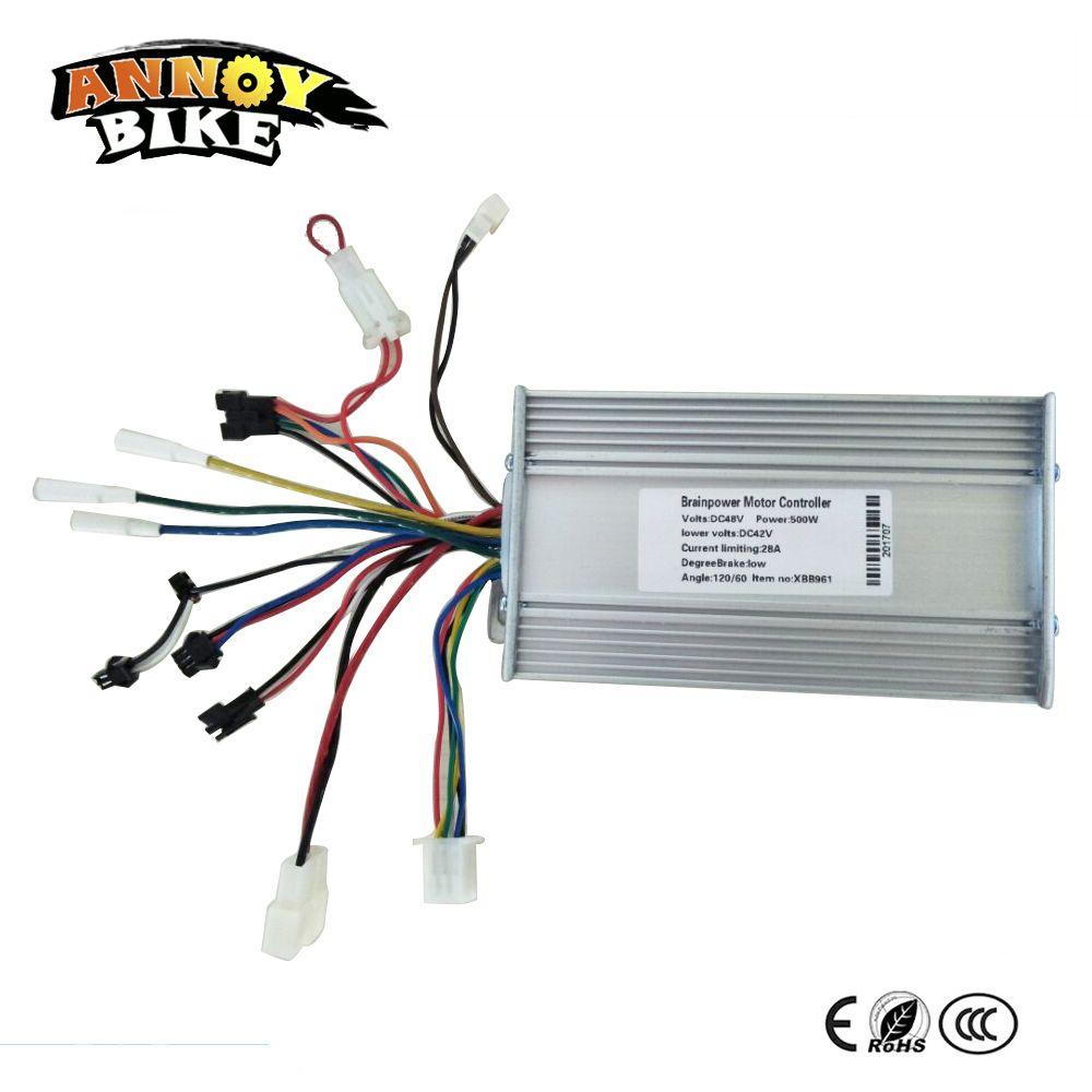 Electric Bike Controller LCD Display Brushless 36V48V24V 250W 500W 1000W Ebike