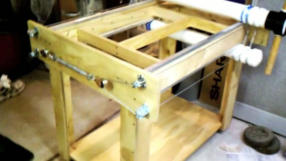 Home Made Slab Roller